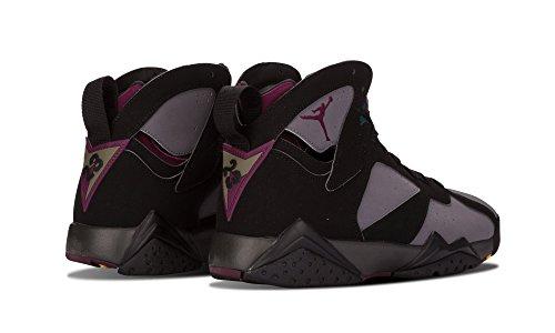 Nike Mens Air Jordan 7 Retro Bordeaux Nero / Pelle Scamosciata Grafite Bordeaux Taglia 11