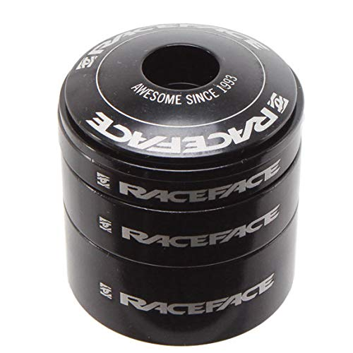 Race Face Headset Spacer Kit with Top Cap Black by RaceFace