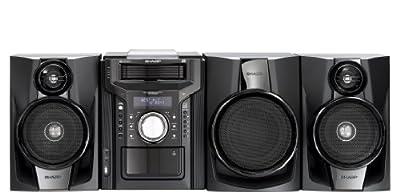 Sharp CD-DHS1050P 350 Watt RMS iPod Supported Mini Hi-Fi System - Black