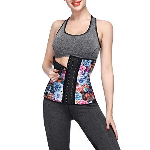 Allywit Women Petite Steel Boned Waist Trainer Underbust Corset Short Torso Mesh Body Shaper by Allywit (Image #4)
