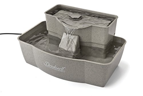 PetSafe Drinkwell Multi-Tier Dog and Cat Water Fountain, Automatic Drinking Fountain for Pets, 100 oz. Water Capacity