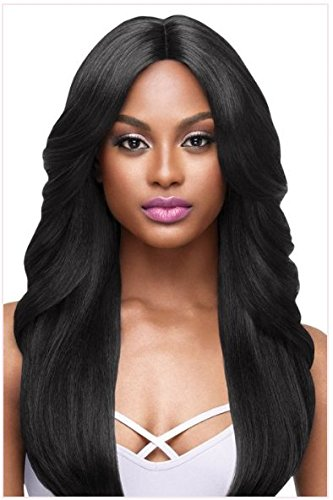 Outre Lace Front Wig I-Parting Swiss Lace - JASMINE (#1B Off -