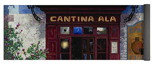 Pixels Yoga Mat w/ Bag ''cantina Ala'' by Pixels