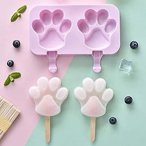 ZASEA Cartoon stampi Popsicle for i Bambini creativi ghiacciolo Stampo Crema Vassoio della Muffa/Ghiaccio/ghiacciolo… 4 spesavip