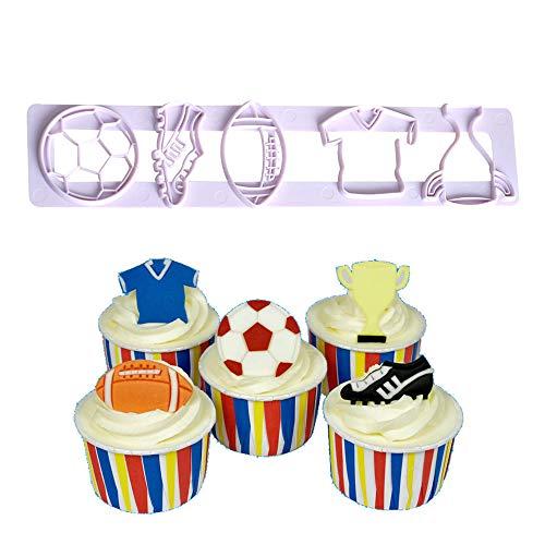 Football Cake Mold Soccer Ball Cookie Cutter Soccer