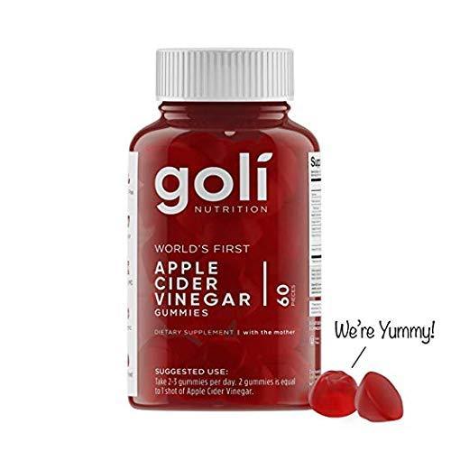 Goli Nutrition World's First Apple Cider Vinegar