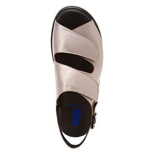Rosso Bordeaux Donna 254 grau Leder Wolky Sneaker EwRqBpSWT