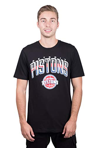 - NBA Detroit Pistons Men's T-Shirt Arched Plexi Short Sleeve Tee Shirt, X-Large, Black
