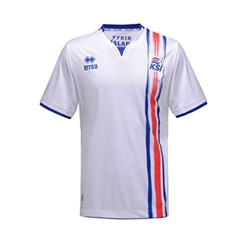 2016 Euro Cup Mens Iceland Away Stadium Soccer Jersey