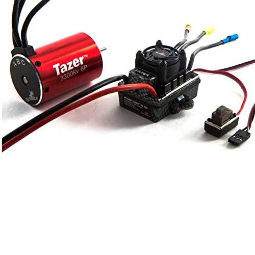 Dynamite S0600 Tazer 1/10 6-Pole 3300Kv Waterproof ESC/Motor Combo ()