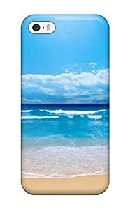 Anti-scratch And Shatterproof Clear Blue Skies Phone Case For Iphone 5/5s/ High Quality Tpu Case