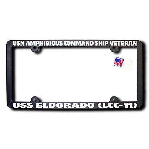 USN Amphibious Command Ship Veteran USS ELDORADO (LCC-11) License (Eldorado Frame)