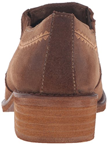 Taupe Bootie Women's Naughty Ankle Slip Monkey Agnes On axzaUq18w