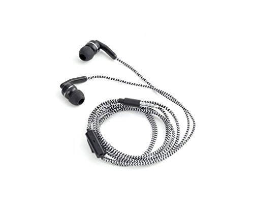 Kikkerland Chevron Earbuds Microphone Black product image