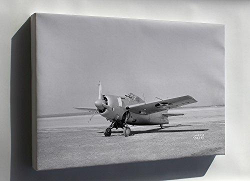 (Canvas 24x36; Grumman F4F-3 Wildcat Naca Langley Research Center 1941)