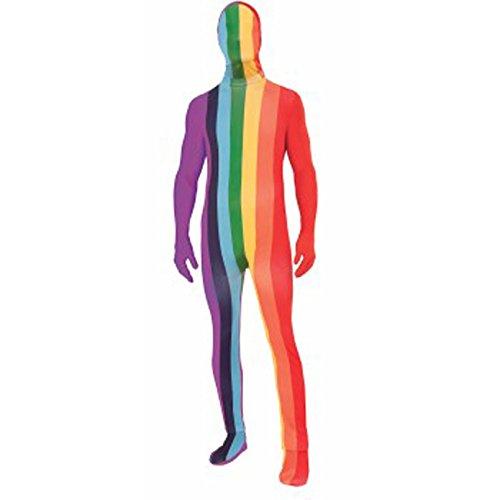 Forum Novelties Men's Disappearing Man Rainbow Costume, Multi, Standard