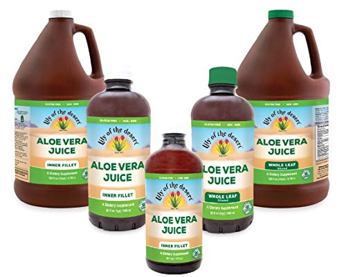 Lily Of The Desert Aloe Vera Juice (Inner Fillet, 128oz)