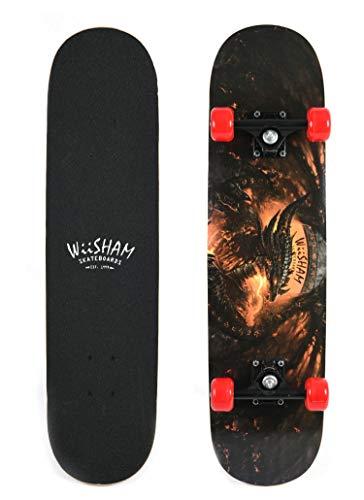 Free Skateboard Deck - Xtreme Free WiiSHAM Skateboards,Pro Skateboards,31