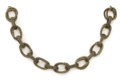 (Darice, Tori Spelling, Textured Links Necklace Bottom DWO)