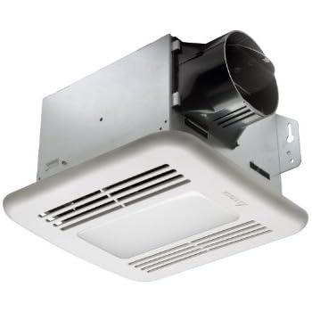 Delta BreezGreenBuilder GBR80LED 80 CFM Exhaust Bath Fan/Dimmable LED Light