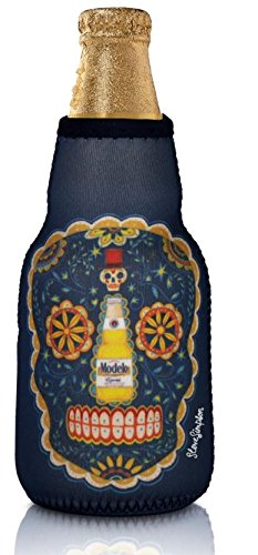 Vacu Vin 36240606-MOO Bottle Suit & Chill Indicator Modelo Beer Accessory, One Size, Blue