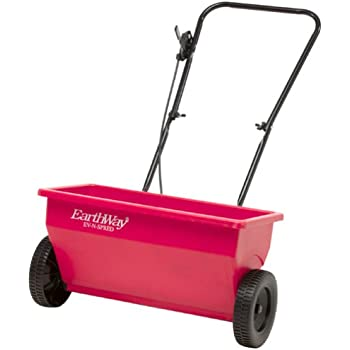 Earthway 75-Pound Deluxe Set-Up Residential Drop Spreader with 8-Inch Wheels 7350SU