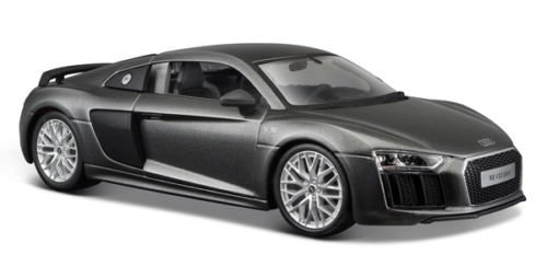 Maisto Audi R8 V10 Plus Grey Special Edition 1/24 Toy