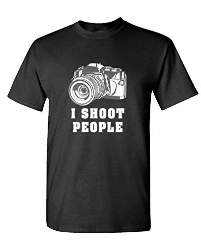 Goozler SHOOT PEOPLE Cotton T Shirt
