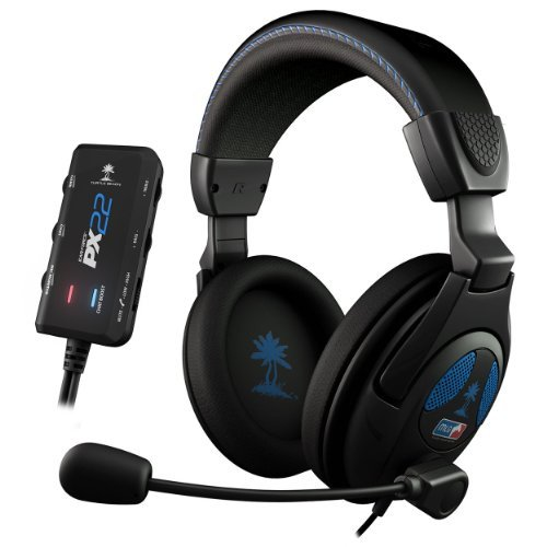 Turtle Beach - Ear Force PX22 - Universal Amplified Gaming Headset- PS3, Xbox 360, PC - FFP by Turtle Beach (Px22 Turtle Beach)