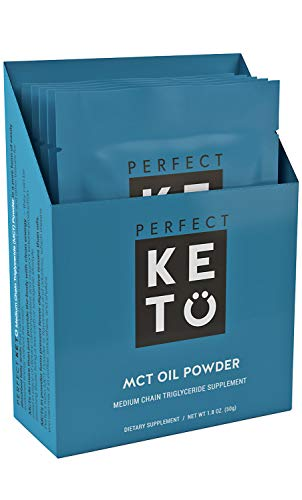 Perfect Keto MCT Oil Powder (5-Pack Unflavored Sampler)