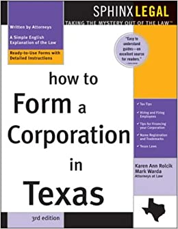 The Best Guide To How To Incorporate In Texas