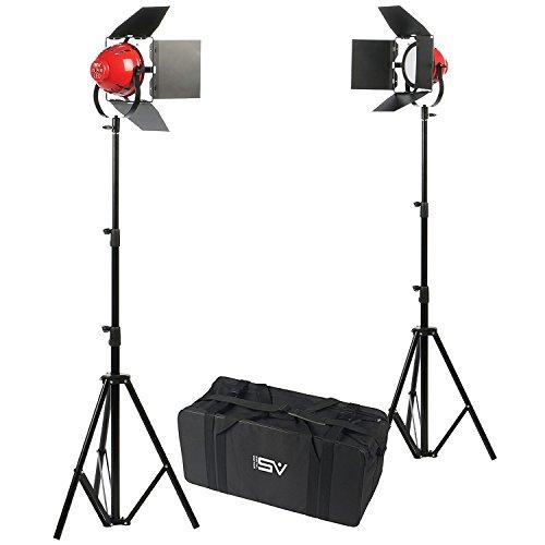 (Smith Victor Ladybug 1000 LED 2-Light Kit with Case)