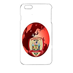 Beautiful Red Earth Background Lgo Design 3D Barnsley Football Club Graceful Durable Phone Case For Iphone 6 Plus ( 5.5 Inch )
