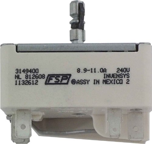 GENUINE Whirlpool 3149400 Infinite Switch for Range (Whirlpool Stove Parts)