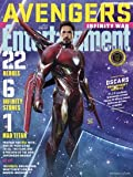 Entertainment Weekly Magazine (March 16 2018) Avengers Infinity War Iron Man Cover 12 of 15