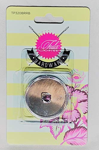 Tula Pink Rotary Cutter 45mm Replacement Blades by Brewer Sewing