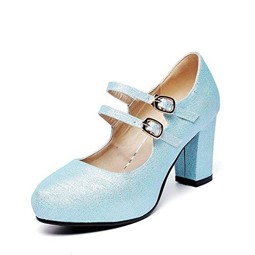 Bleu femme Escarpins 1TO9 Escarpins 1TO9 pour znXIxEq