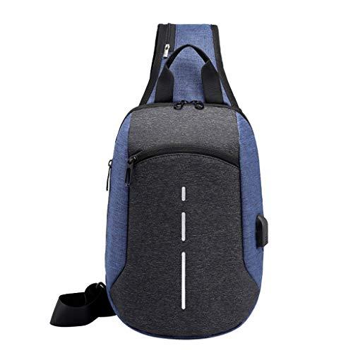 Sling Bag Multipurpose Daypacks Shoulder Bags Crossbody Backpack for Mens&Womens Hiking,Camping,Sports Chest Bag