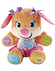 Fisher-Price Laugh and Learn Puppy, blauw of roze