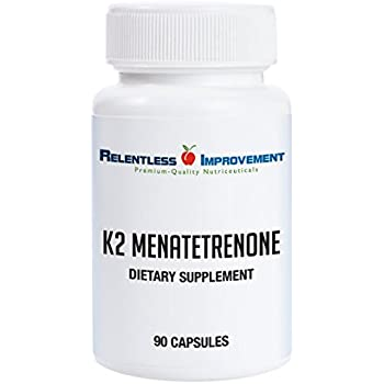 Relentless Improvement Vitamin K2 Mk4