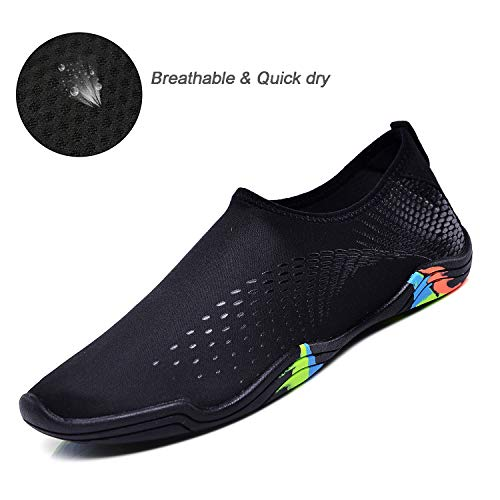 Quick Barefoot Aqua Women Shoes Men Allblack Socks Dry Water Beach Swim Shoe Uminder q8IwUfSO
