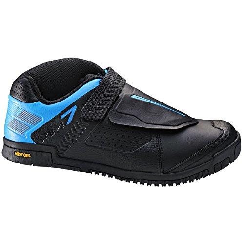 7ae9ccfc818 Shimano Men's Sh-Am7 Mountain Bike Shoe, Black, 43