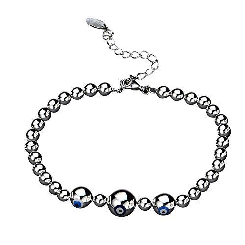 lightclub Fashion Women Girls Evil Eye Beaded Bracelet Birthday Gift Party Club Bangle -