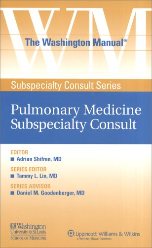 The Washington Manual® Pulmonary Medicine Subspecialty Consult (The Washington Manual® Subspecialty Consult Series)