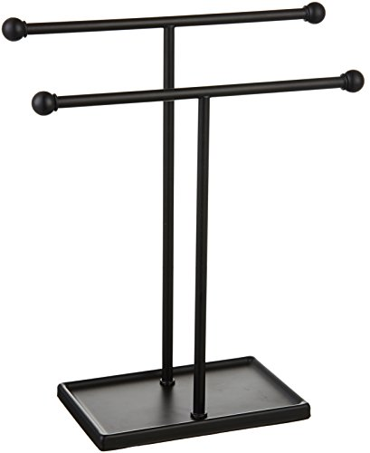 AmazonBasics Double-T Hand Towel and Accessories Stand -