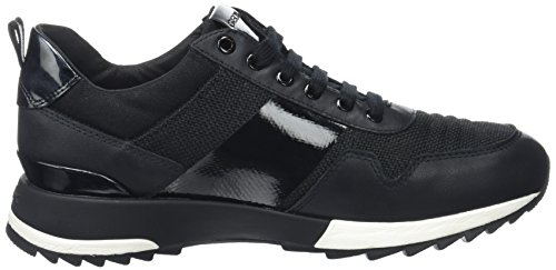 Geox D aneko B Abx B, Sneakers Basses Femme Noir (Blackc9999)