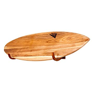 COR Surf Surfboard Wall Rack for Long Boards and Short Boards Works Indoor and Outdoor Display - Made from Eco Friendly Sustainable Wood