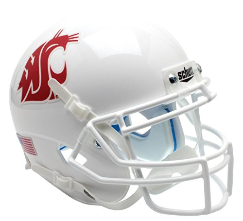 NCAA Washington State Cougars Mini Helmet, One Size (Cougars Washington State Helmet)