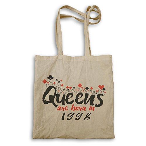Königinnen werden 1998 geboren Tragetasche d213r