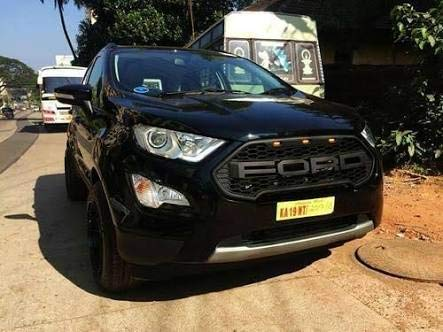 Sdr Front Grill For Ford Ecosport Endeavor Style For Latest Model Black Amazon In Car Motorbike